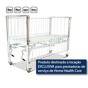 Berço Hospitalar Manual JM Berço Luxo